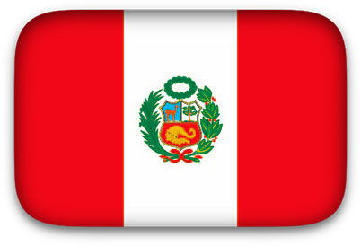 Free Animated Peru Flags.