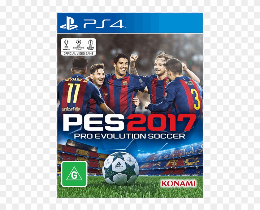 Pes 17 Ps4 Png, Transparent Png (#4697018), Free Download on.