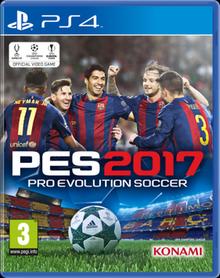 Pro Evolution Soccer 2017.