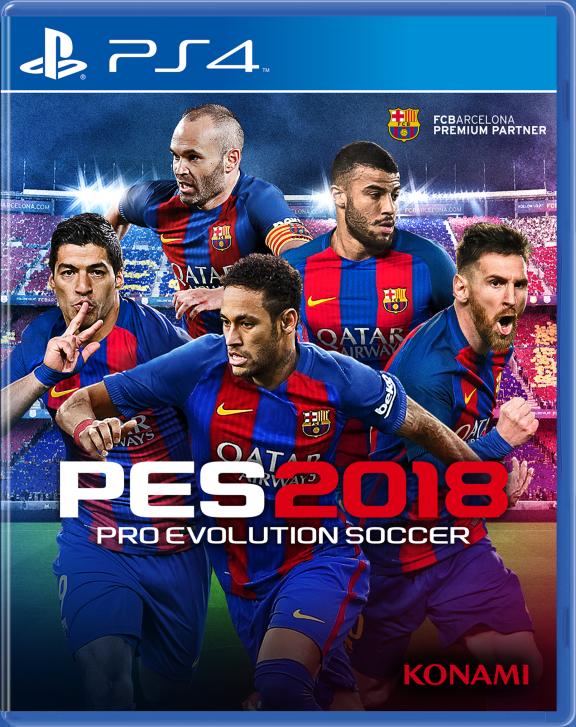 Pro Evolution Soccer 2018.