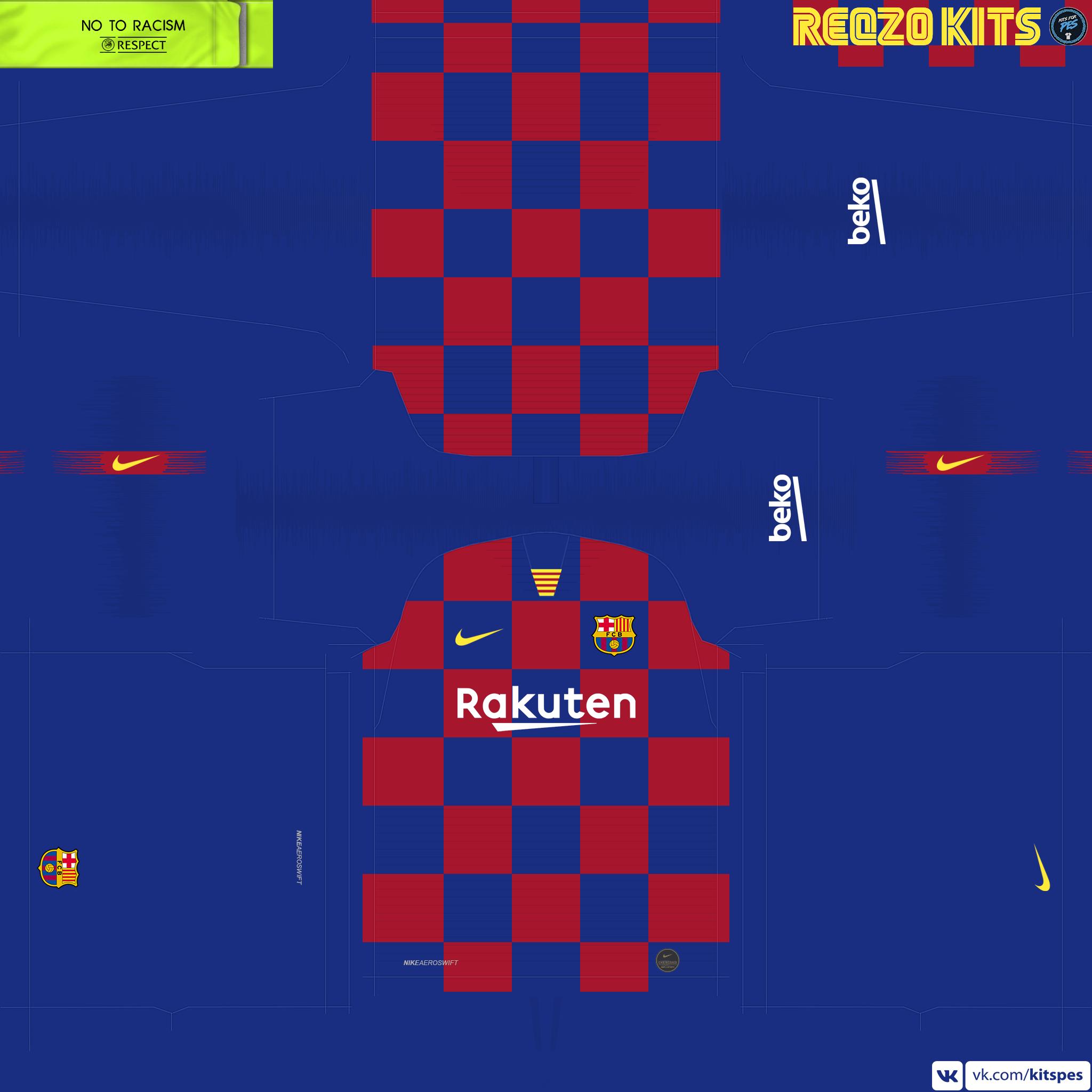 New kits! PES 2019/2020 by Reqzo.