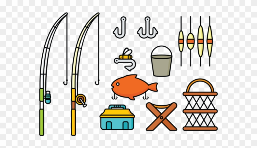 Fishing Rod Clipart Fishing Tool.