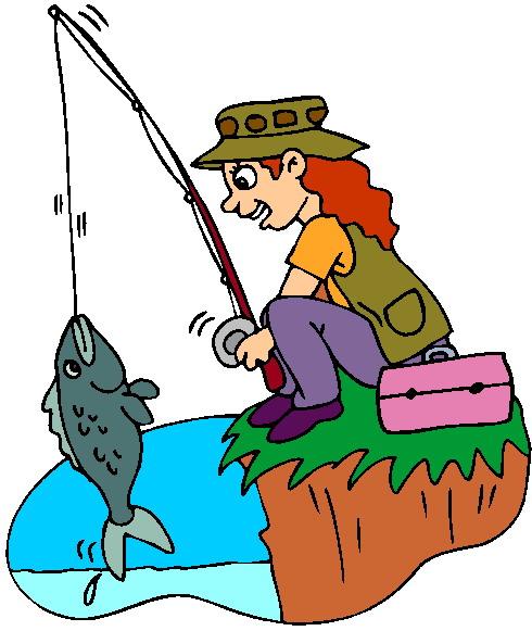 Pescadores Clip Art.