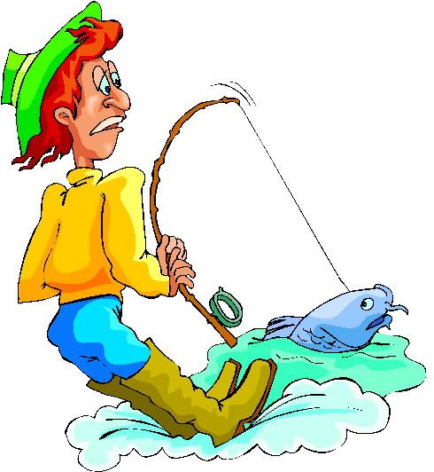 Pescadores Clip Art Gif.