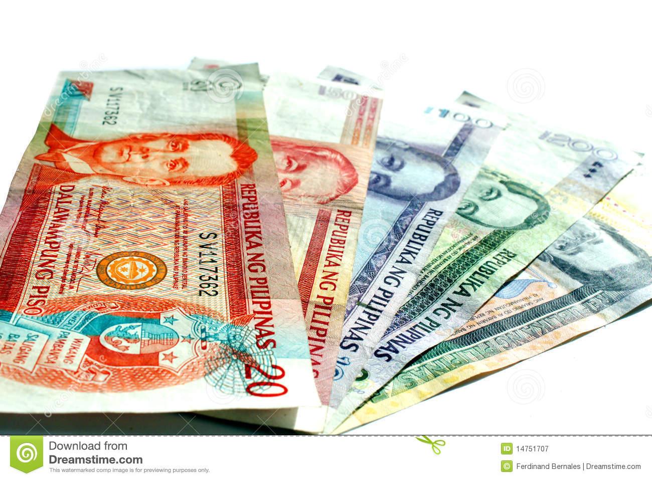 Philippine Peso Royalty Free Stock Image.