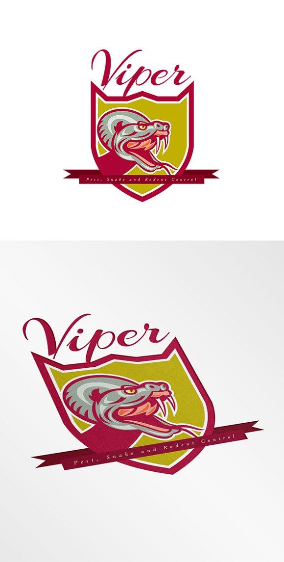 Viper Pest Control Logo.