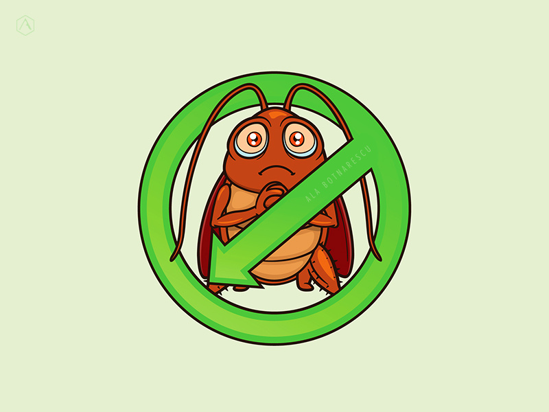 Pest control Logo Design by Ala Botnarescu on Dribbble.