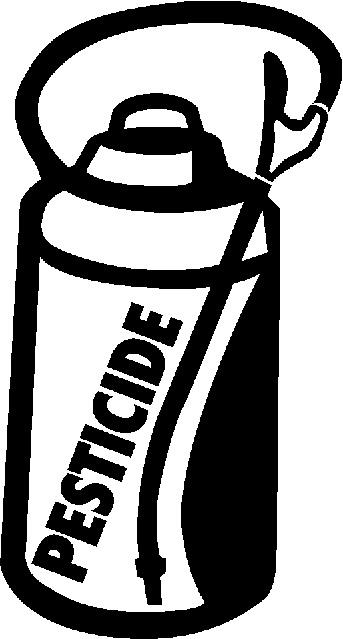 Pesticide Safety Clip Art.