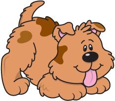 Pet Dog Clipart.