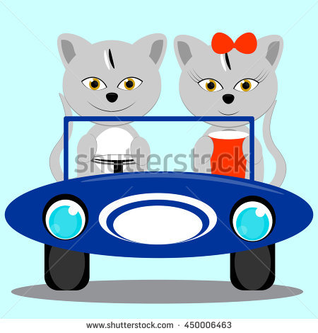 Car Kitten Toy Stock Images, Royalty.