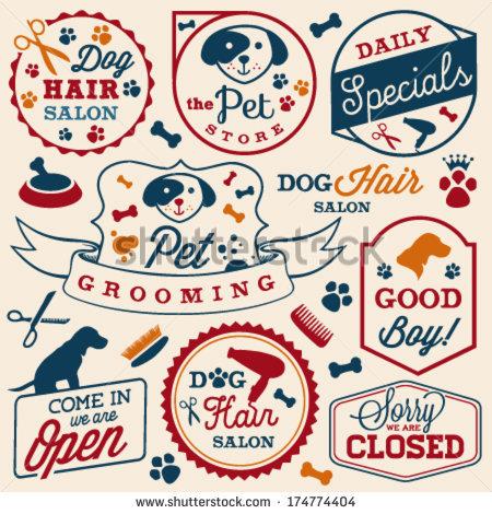 Pet Grooming Stock Photos, Royalty.