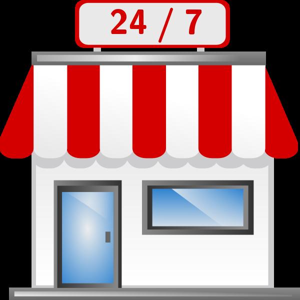 Shop Icon clipart.