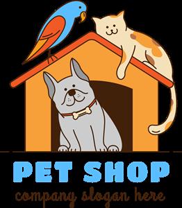 pet shop Logo Vector (.EPS) Free Download.