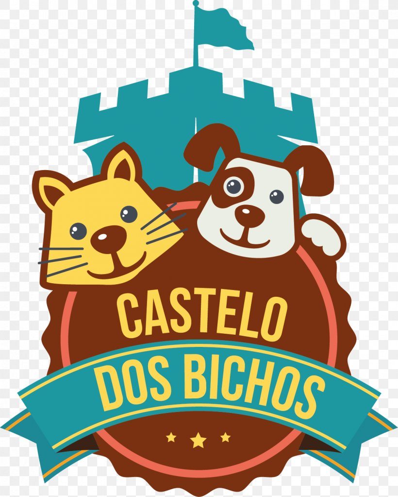 Dog Pet Shop Logo Label Pet Castelo Dos Bichos, PNG.
