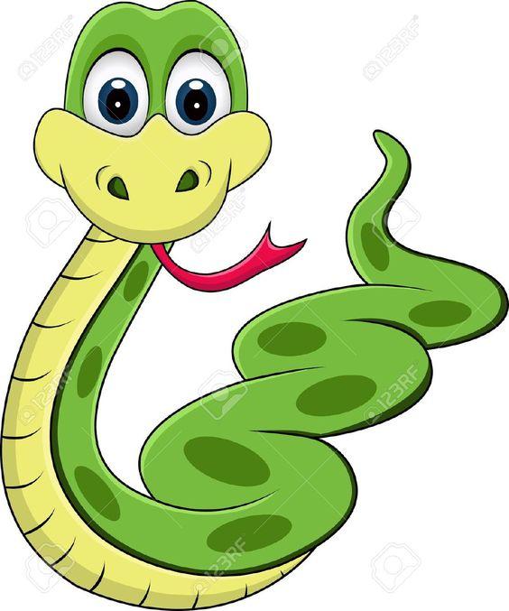 serpiente animada.