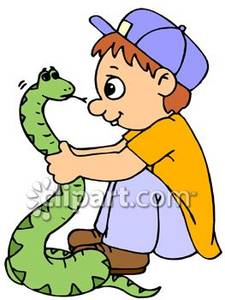 Pet snake clipart.