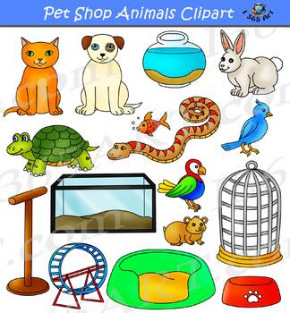 Pet Shop Clipart.
