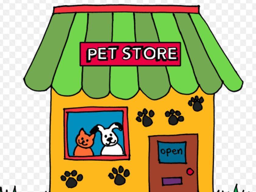 clipart pet store.