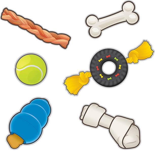 Pet Toys Clipart.