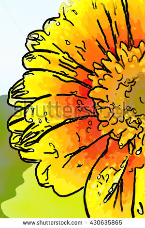 Cartoon Vector Image Flaming Fast Pitch Stock Vector 111894452.