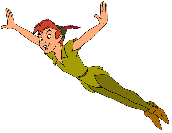 Peter pan jr clip art.