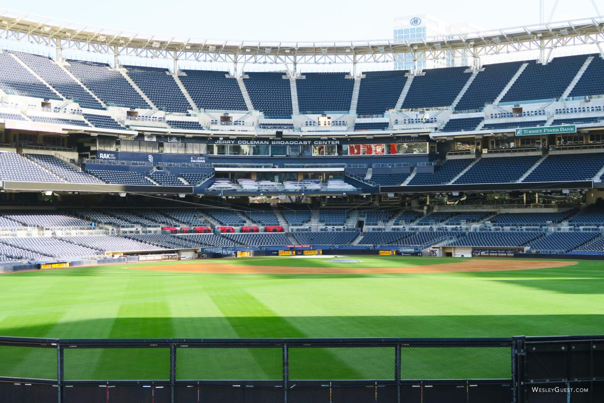 A Walk Through Petco Park in Downtown San Diego.
