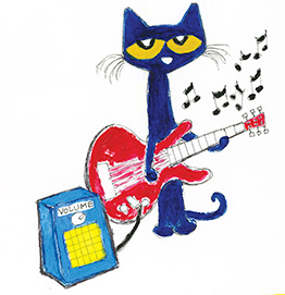 Meet Pete the Cat and His Friends.