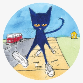 Free Pete The Cat Clip Art with No Background.