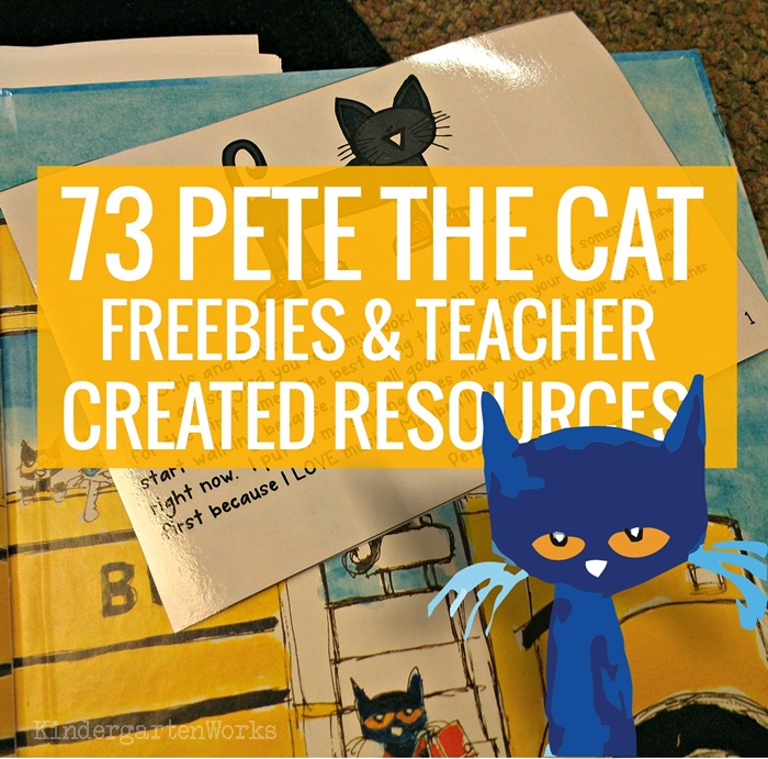 51 Groovy Pete the Cat Lesson Plans and Freebies.