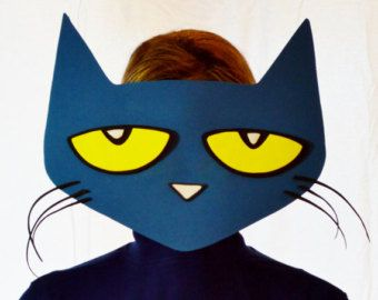 Pete the cat eyes clipart clipground pete the cat printable face mask maxwellsz