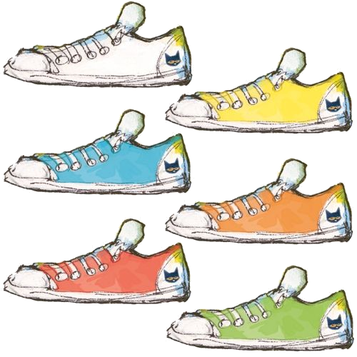 Pete The Cat Shoe Clipart Free On Transparent Png.