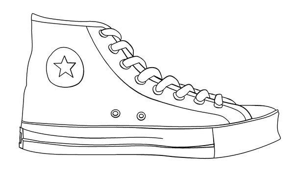 Shoe Templates, Shoe Template Printable, Art Ideas, Pete The.