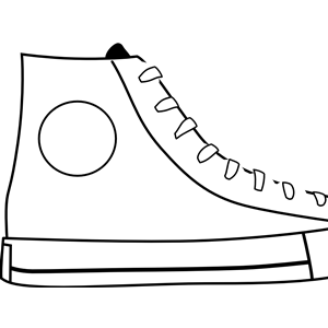 White Shoe clipart, cliparts of White Shoe free download.