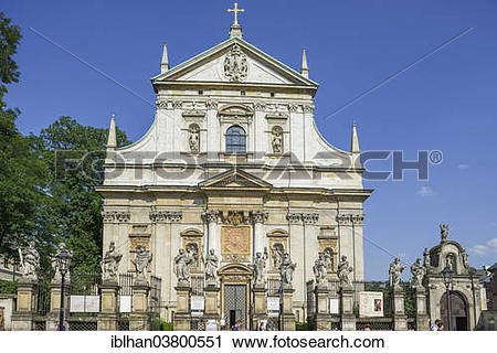 "Stock Photography of ""Roman Catholic Saints Peter and Paul Church."