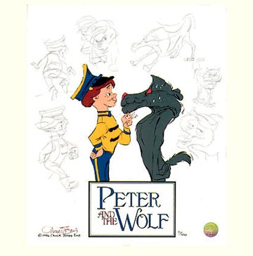 Peter And The Wolf Intro Of Characters.