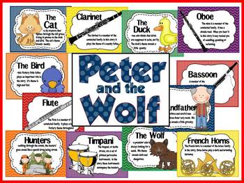 Peter and the Wolf Music Bulletin Board by The Bulletin Board Lady.