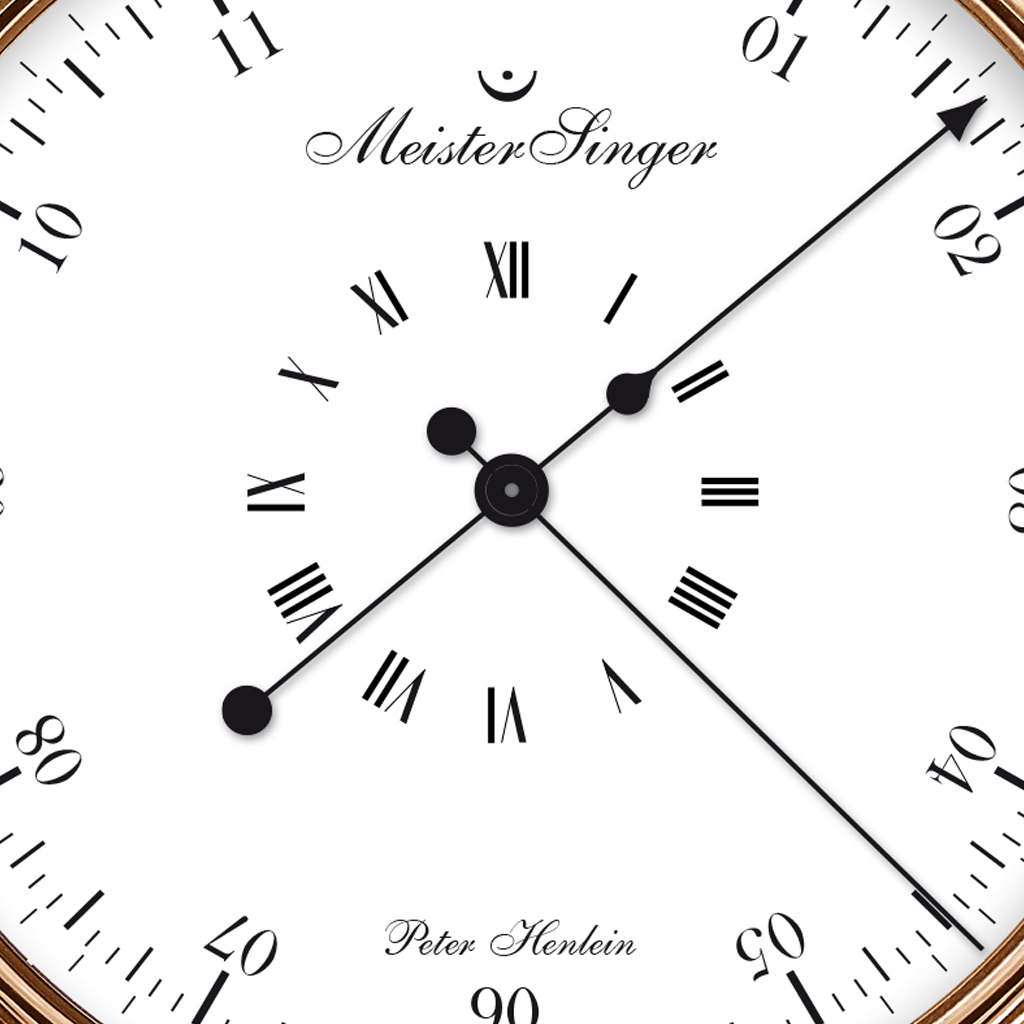 MeisterSinger The Peter Henlein Edition.