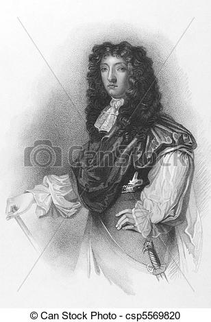 Stock Photography of John Graham, 1st Viscount of Dundee (1648.