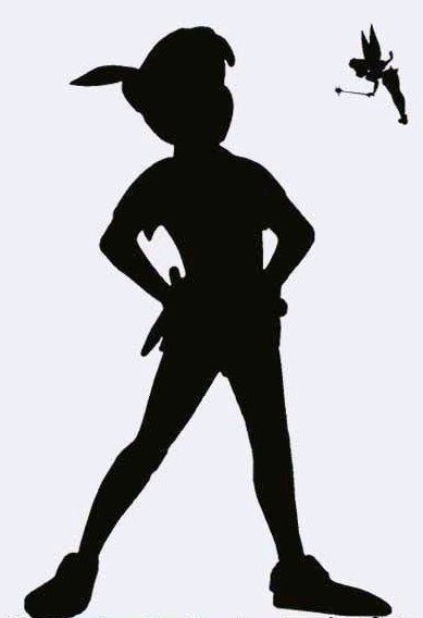 Peter pan clipart black and white » Clipart Portal.