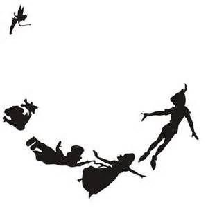 peter pan silhouette.