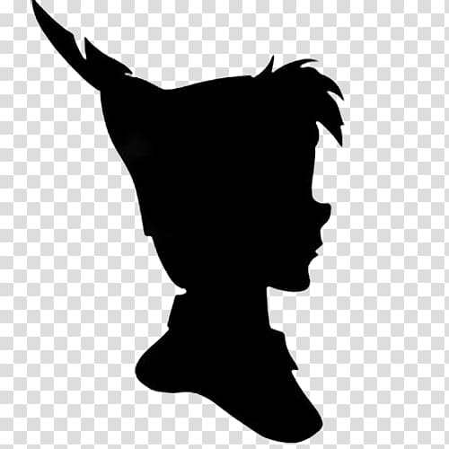 Peter Pan face illustration, Peter Pan Peter and Wendy Wendy.