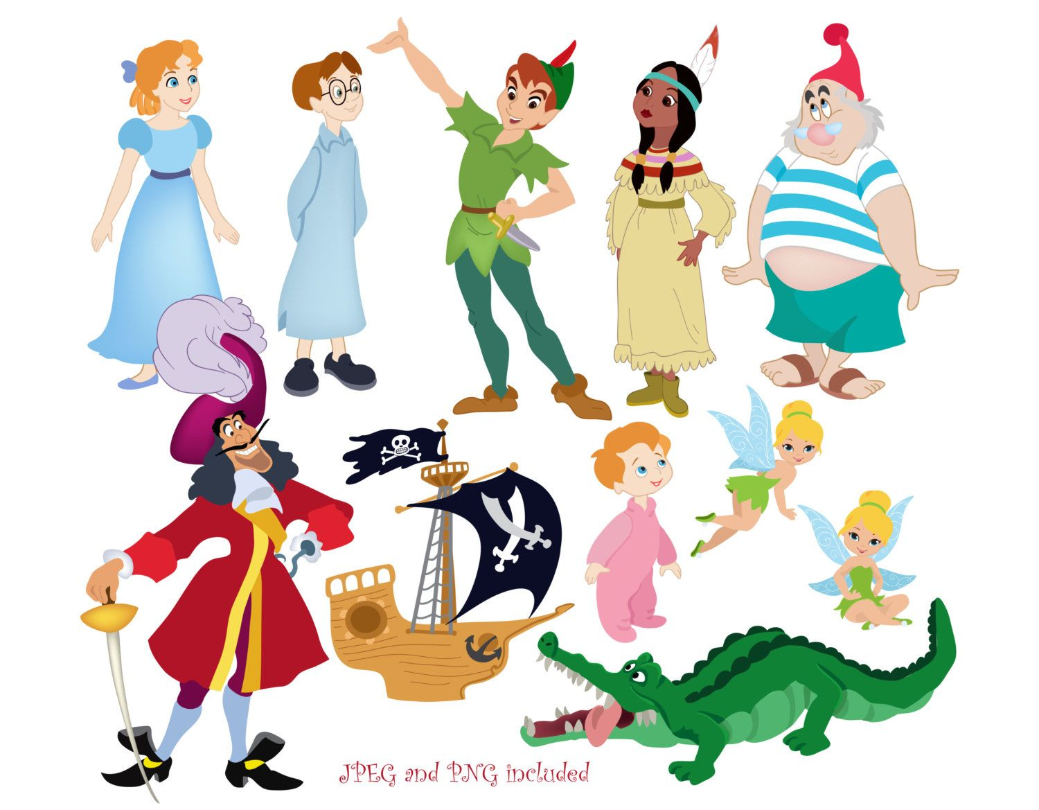 Digital Download Discoveries for PETER PAN CLIPART from.