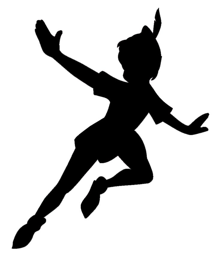 1856 Peter Pan free clipart.