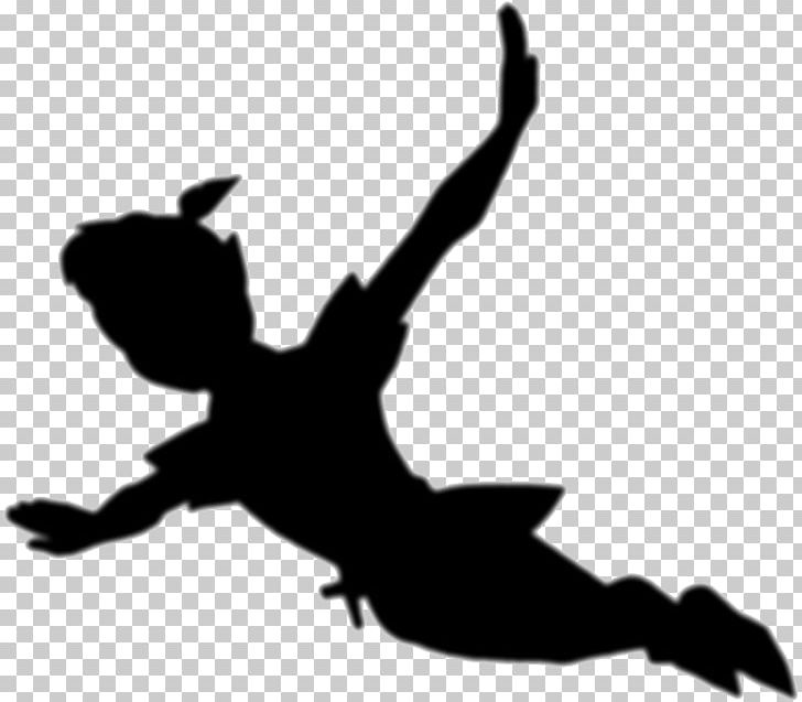 Peter Pan Tinker Bell Wendy Darling Captain Hook Silhouette.