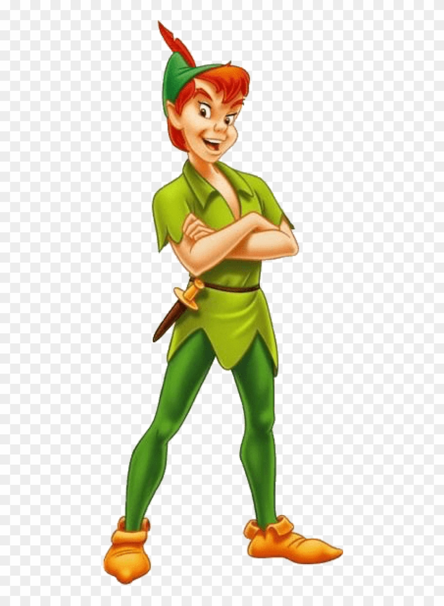 Download Peter Pan Standing Clipart Png Photo Transparent.