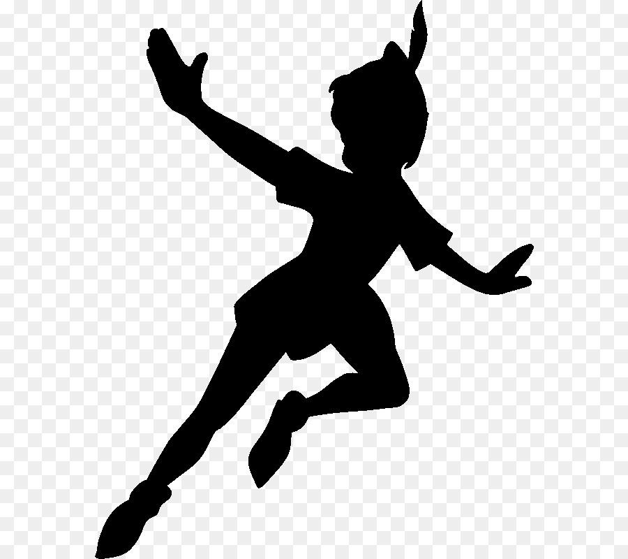 Peter Pan Silhouette png download.