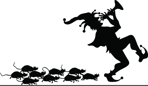Pied Piper Of Hamelin Clipart.
