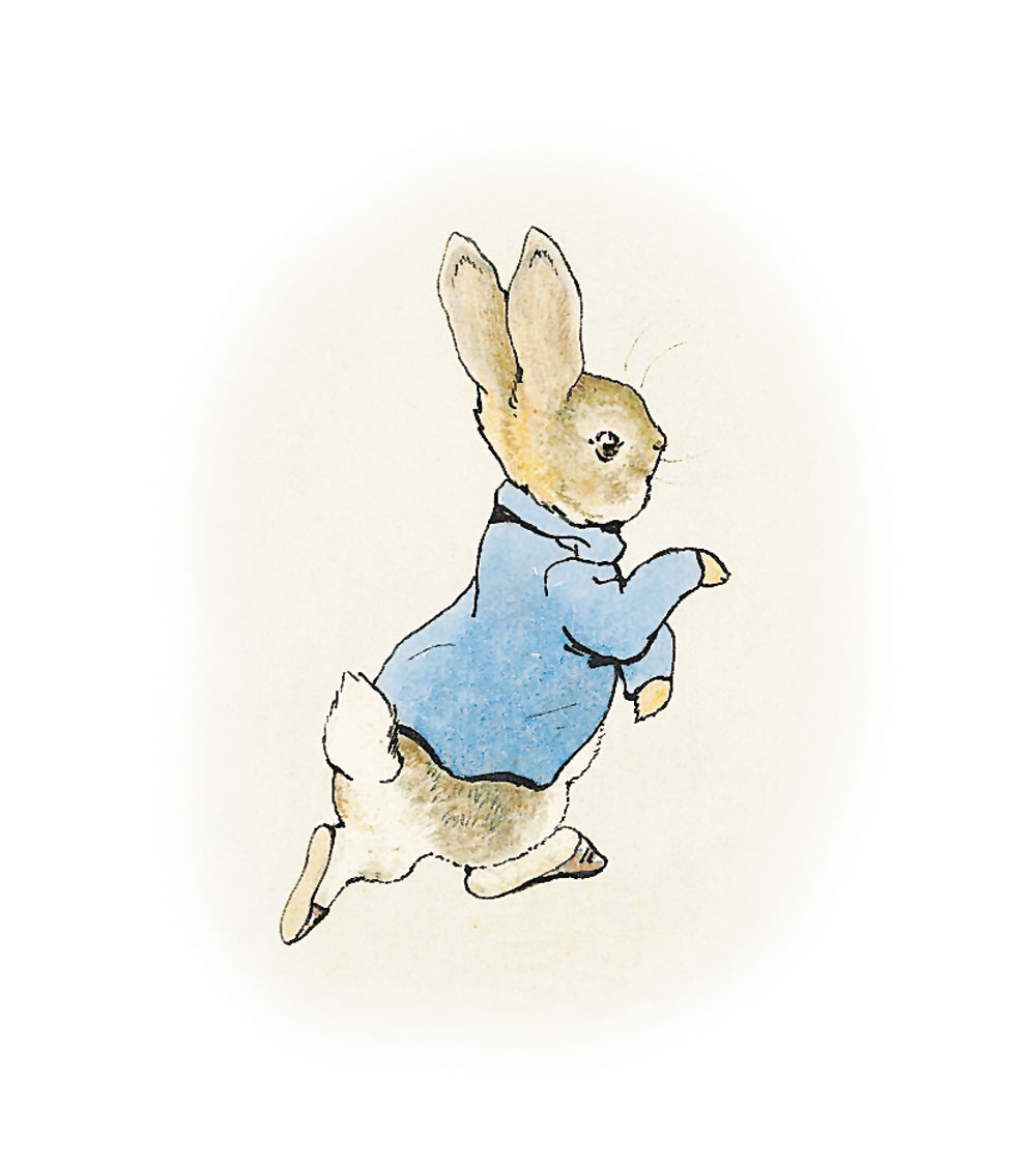 Beatrix Potter: The Tale of Peter Rabbit.