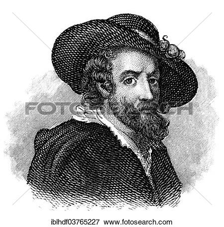 """Picture of """"Sir Peter Paul Rubens, 1577."""