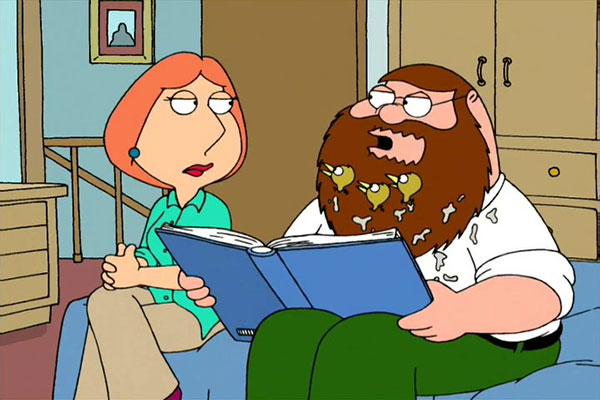 5 Great Cartoon Characters With Facial Hair.